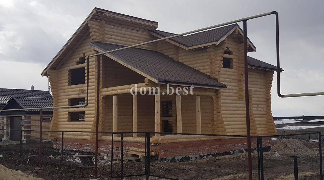 Строительство дома в селе Хирино Нижегородской области