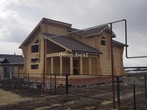 Закончили строительство дома в селе Хирино Нижегородской области