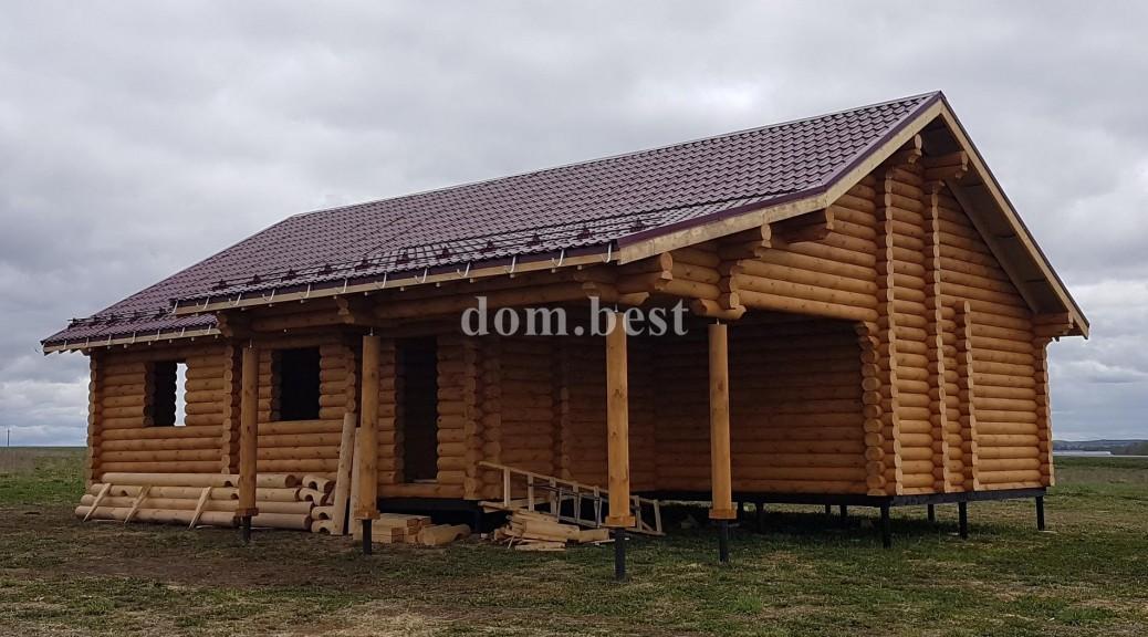 Строительство дома в селе Кузнецово