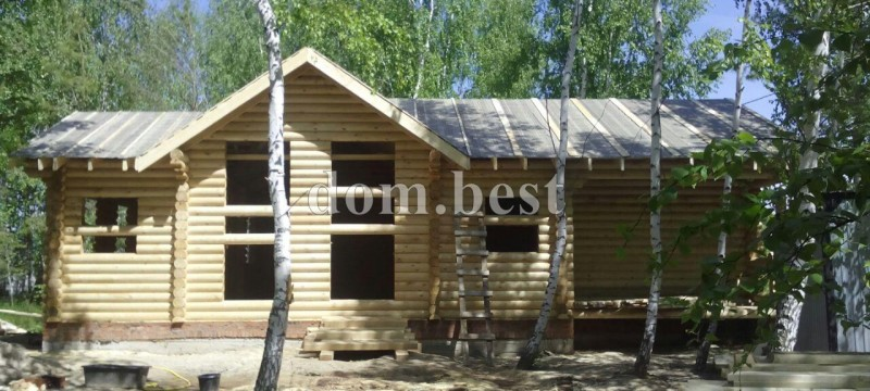 Строительство дома в селе Тетеево в республике Татарстан
