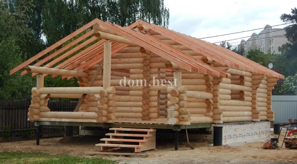 Строительство бани в г. Королеве Московской Области